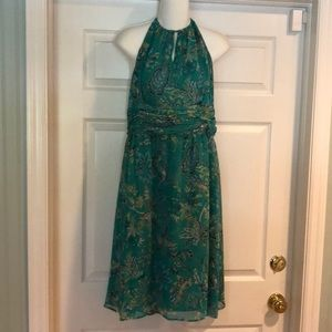 Ann Taylor LOFT halter dress